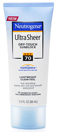 Neutrogena's Ultra Sheer Dry-Touch Sunblock
