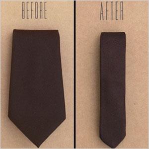 Skinny Fatty tie tailor