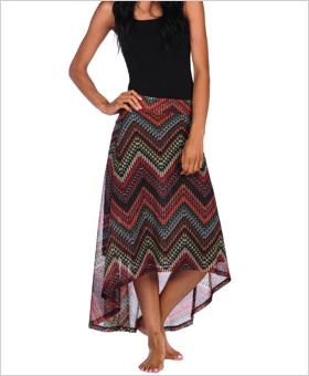Veronica M maxi skirt