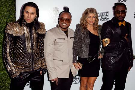 The Black Eyed Peas opening arts