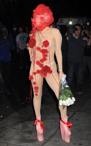 Friday's Fashion Fails: Lady Gaga and