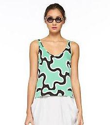 sleeveless tops, summer fashion, hot weather fashion, Diane Von Furstenberg,
