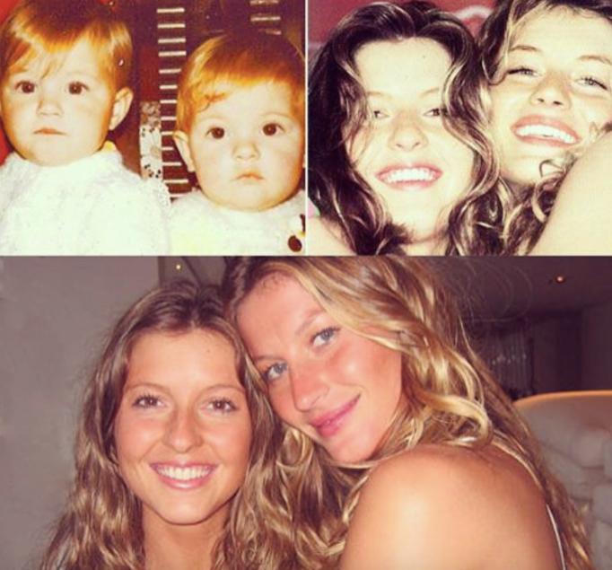 Gisele and Patricia Bündchen IG photo