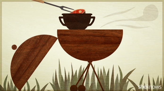 Grill hack: Turn your barbecue into