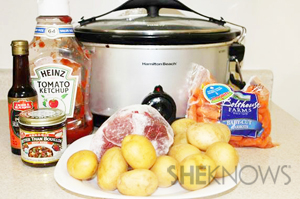 Slow cooker tangy pot roast