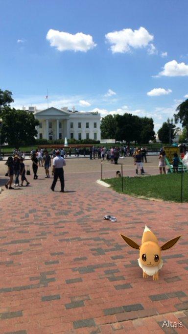 Pokémon at the White House