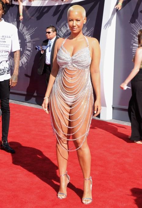 Amber Rose at the 2014 MTV VMAs