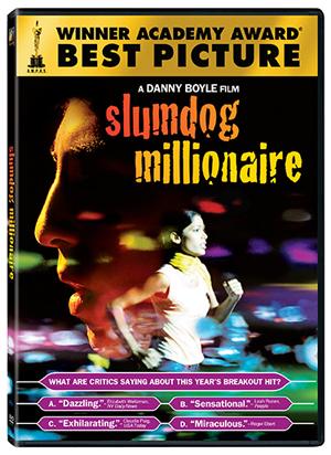 2008's best picture Slumdog Millionaire is now on DVD