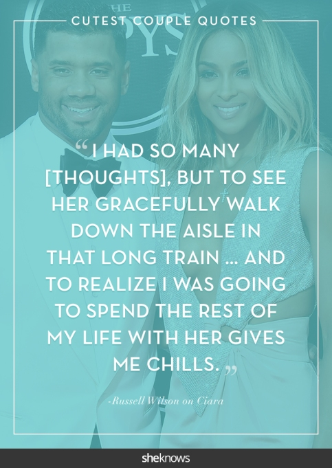 Celebrity love quotes we can't get enough of