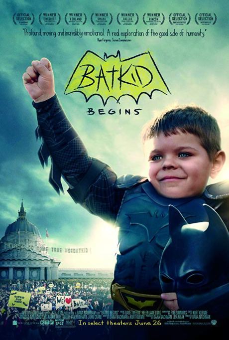 Movie poster for Batkid Begins