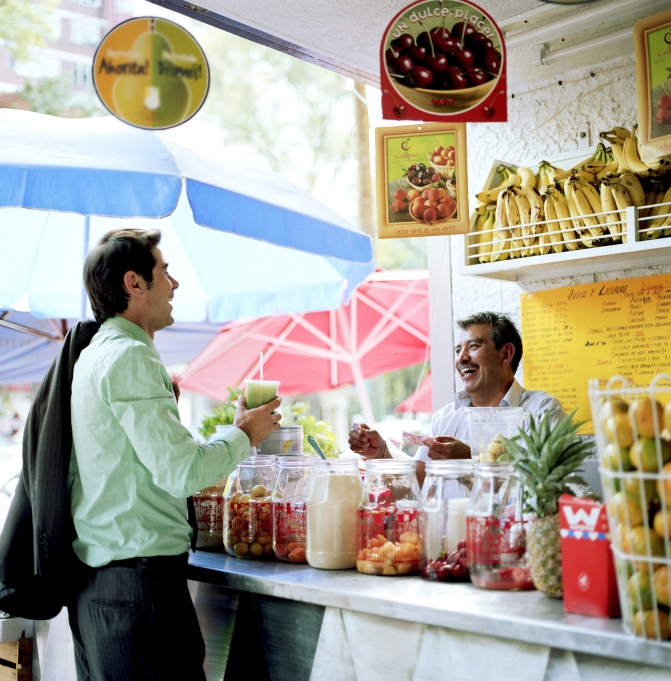 Mexico City Fruit Stand