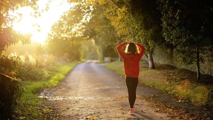 Running marathons helped me get over