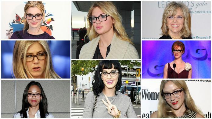 9 Famous women who prove glasses