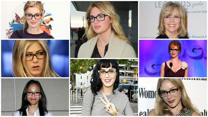 9 Famous women who prove glasses