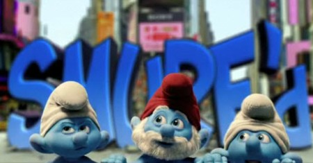 Smurf trailer deubts