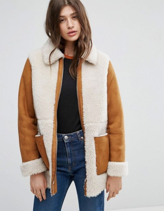 Perfect to Wear Shearling This Season | The classic