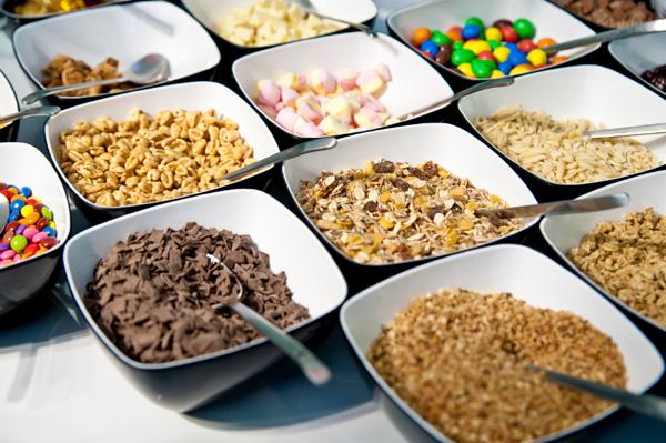 Snack mix ingrdients