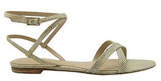 snakeskin sandal, Syera Karung sandal, spring shoe trends, shoe trends