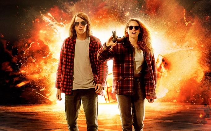 Kristen Stewart and Jessie Eisenberg in American Ultra