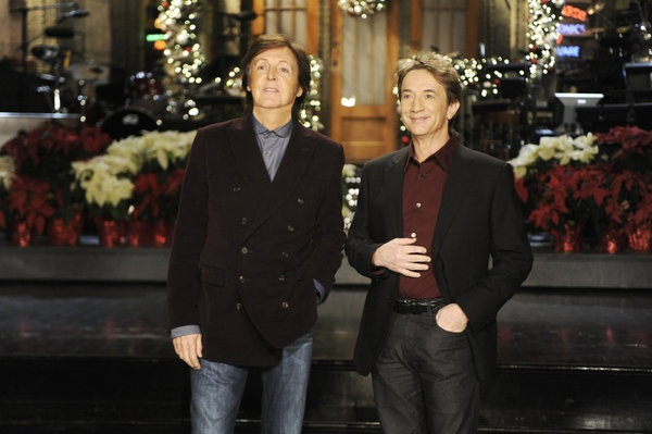 SNL with Martin Short and Paul McCartney