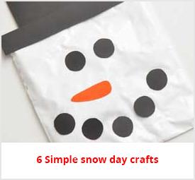 snow day crafts