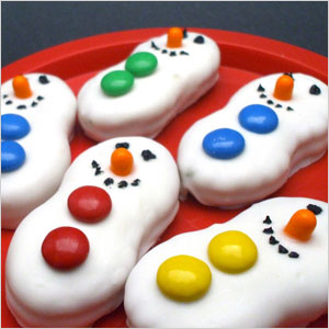 Snowman cookies | Sheknows.com