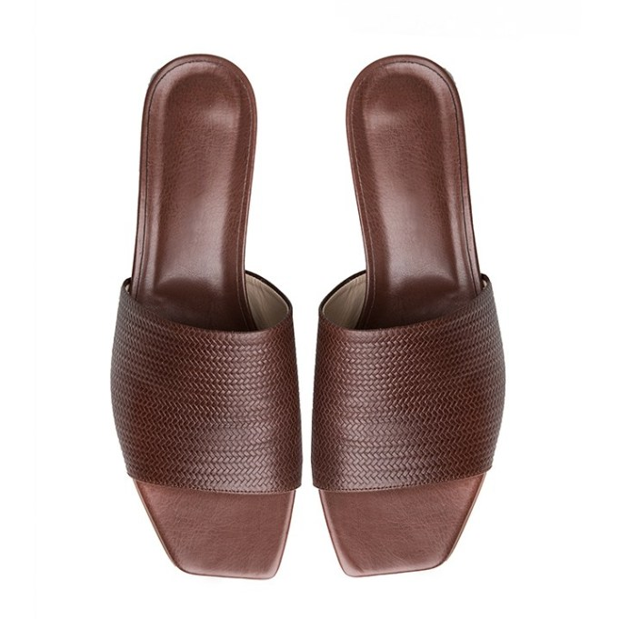 The Best Mule Shoe For Summer 2017: Pixie Market Brown Square Toe Mule   Summer 2017 Accessories