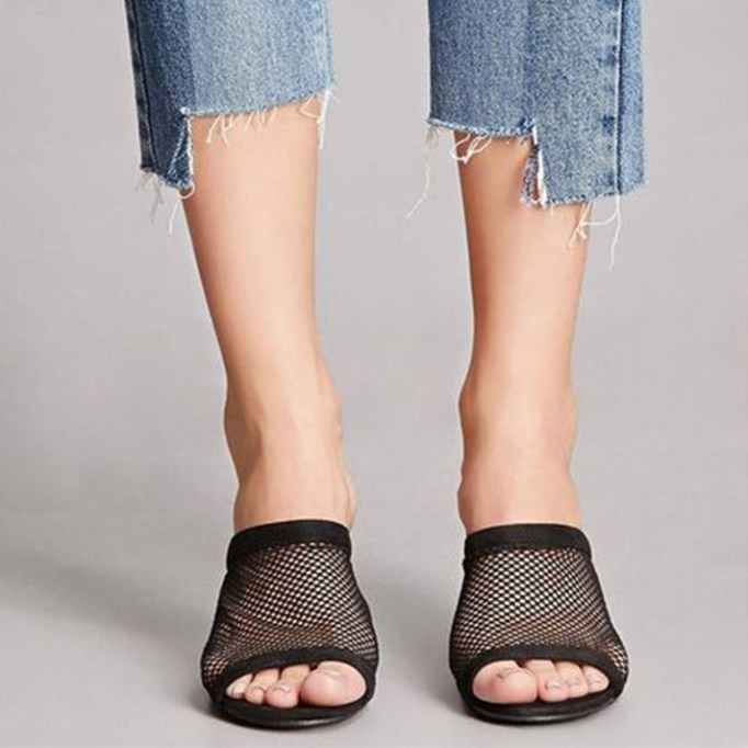 The Best Mule Shoe For Summer 2017: Forever21 Faux Suede Mesh Mules | Summer 2017 Accessories