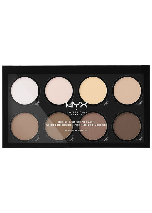 Contour Palettes For Almost Every Skin Tone: NYX Highlight & Contour Pro Palette   Summer Makeup 2017