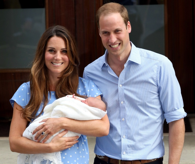 Will & Kate debut Prince George