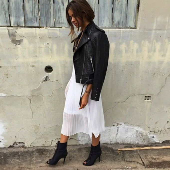 ankle-booties-leather-jacket-white-dress