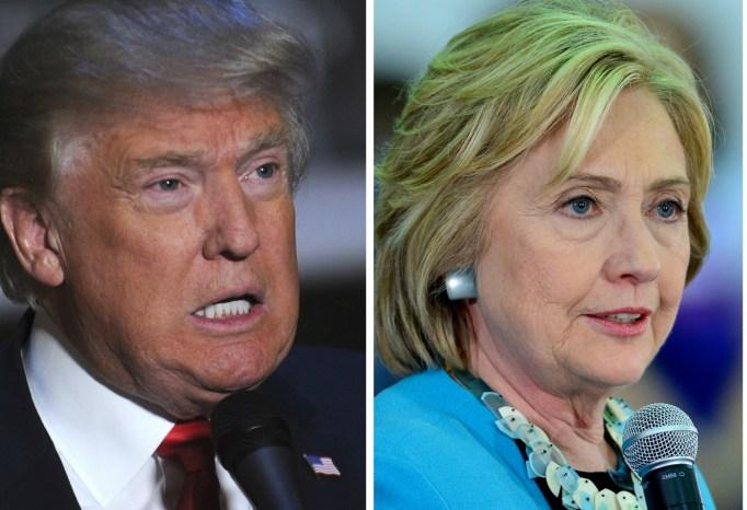 Donald Trump Hillary Clinton feud