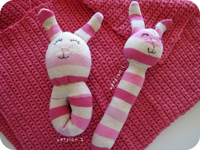 Sock bunny rattle | Sheknows.com