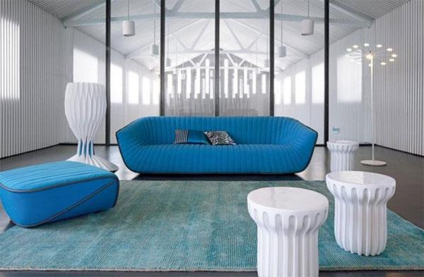 Bold color, minimalist design