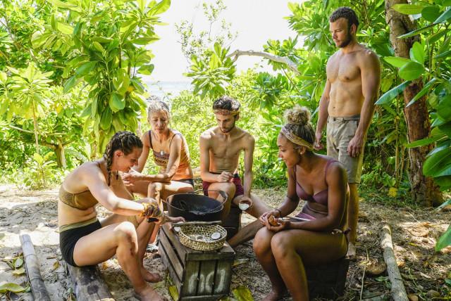 Soko tribe at camp Survivor: Heroes Vs. Healers Vs. Hustlers