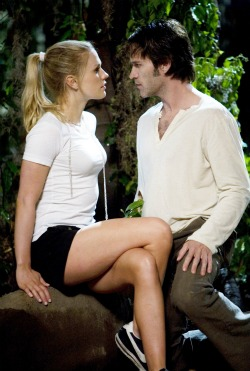 Sookie and Bill from True Blood