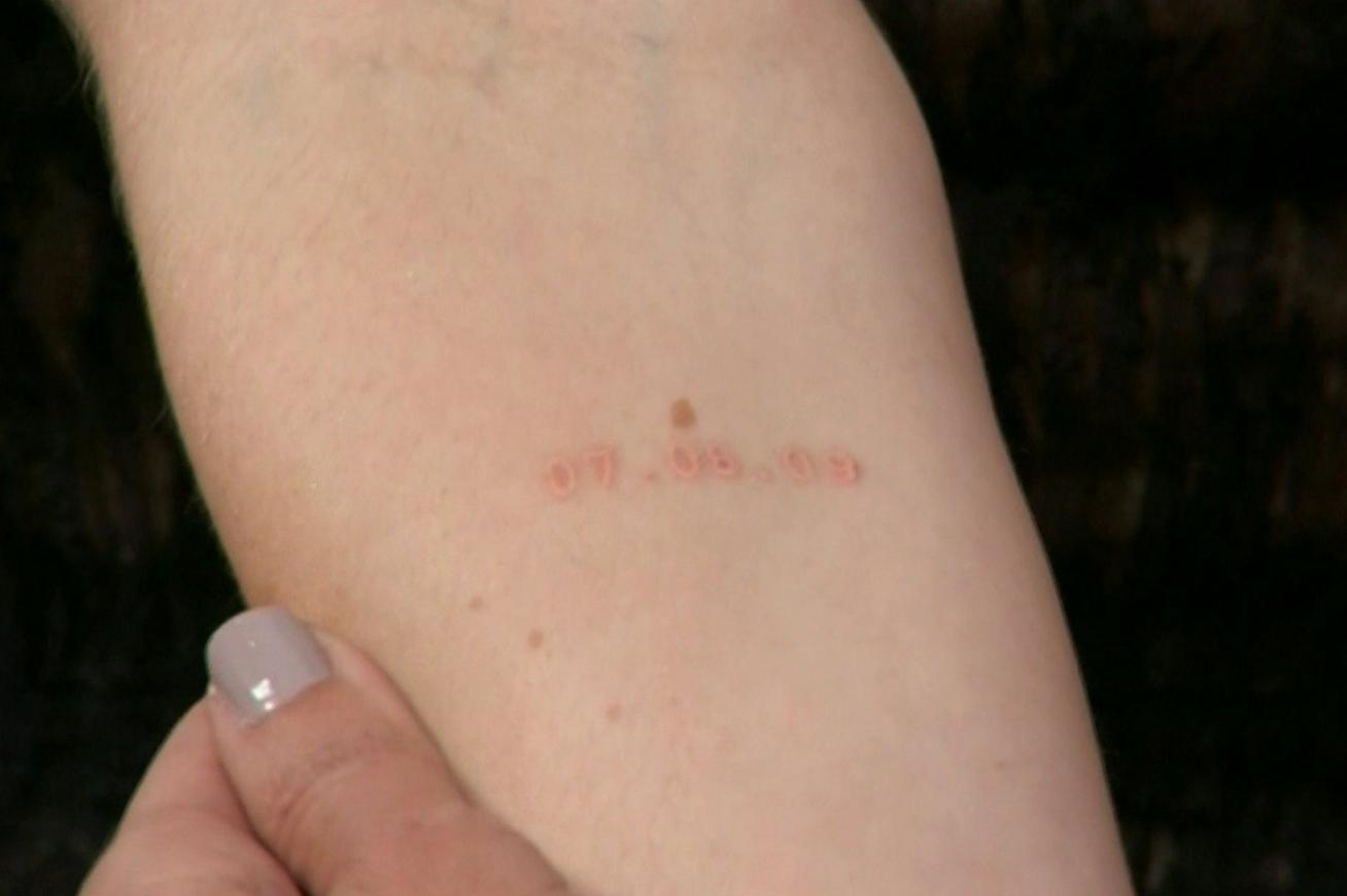 Sophie Turner tattoo