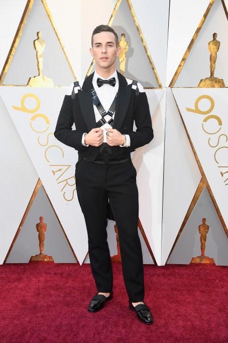 Adam Rippon Oscars 2018