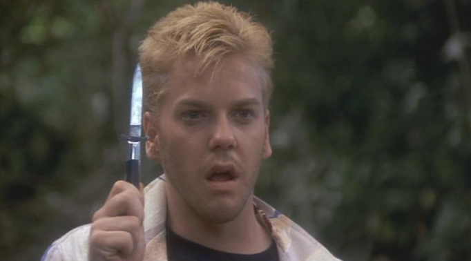 Kiefer Sutherland in Stand by Me
