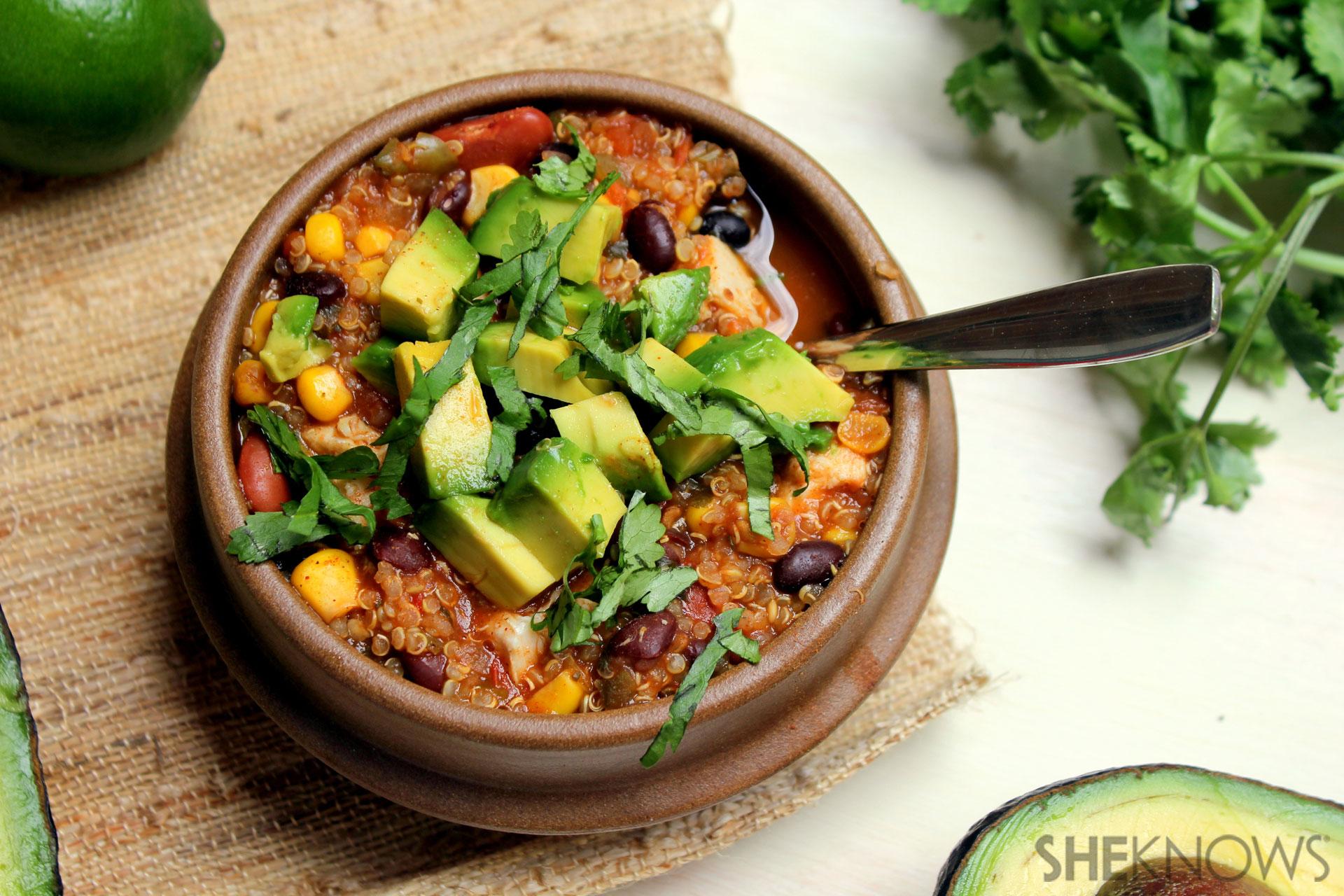 Southwest Quinoa Chili