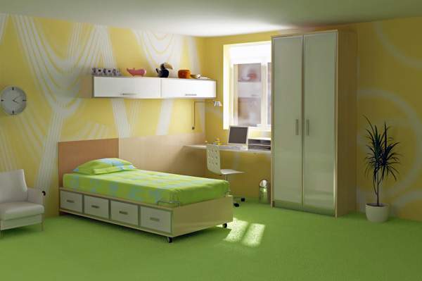 Spacious Bedroom for Special Needs Child