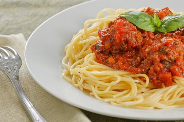 Spaghetti and Meatball dinner