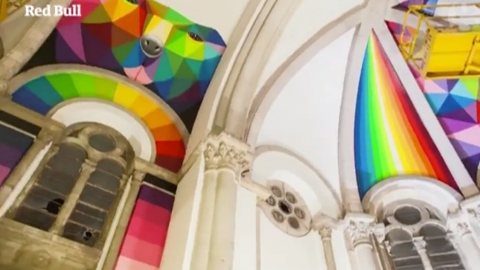 Abandoned Spanish church is transformed into