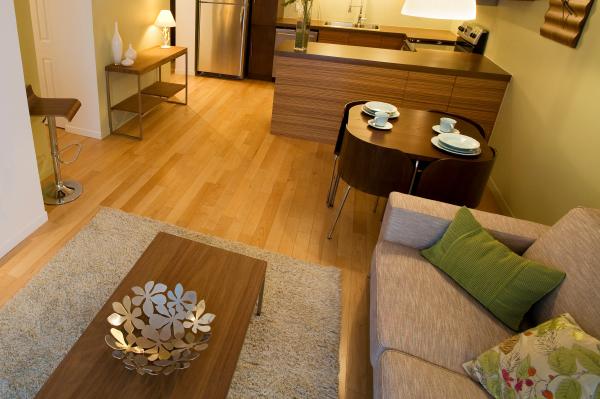Sparse Living Room