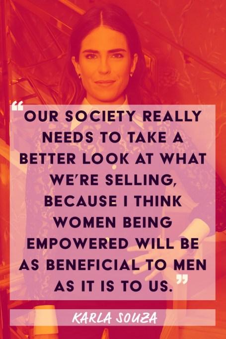 Karla Souza feminism quote