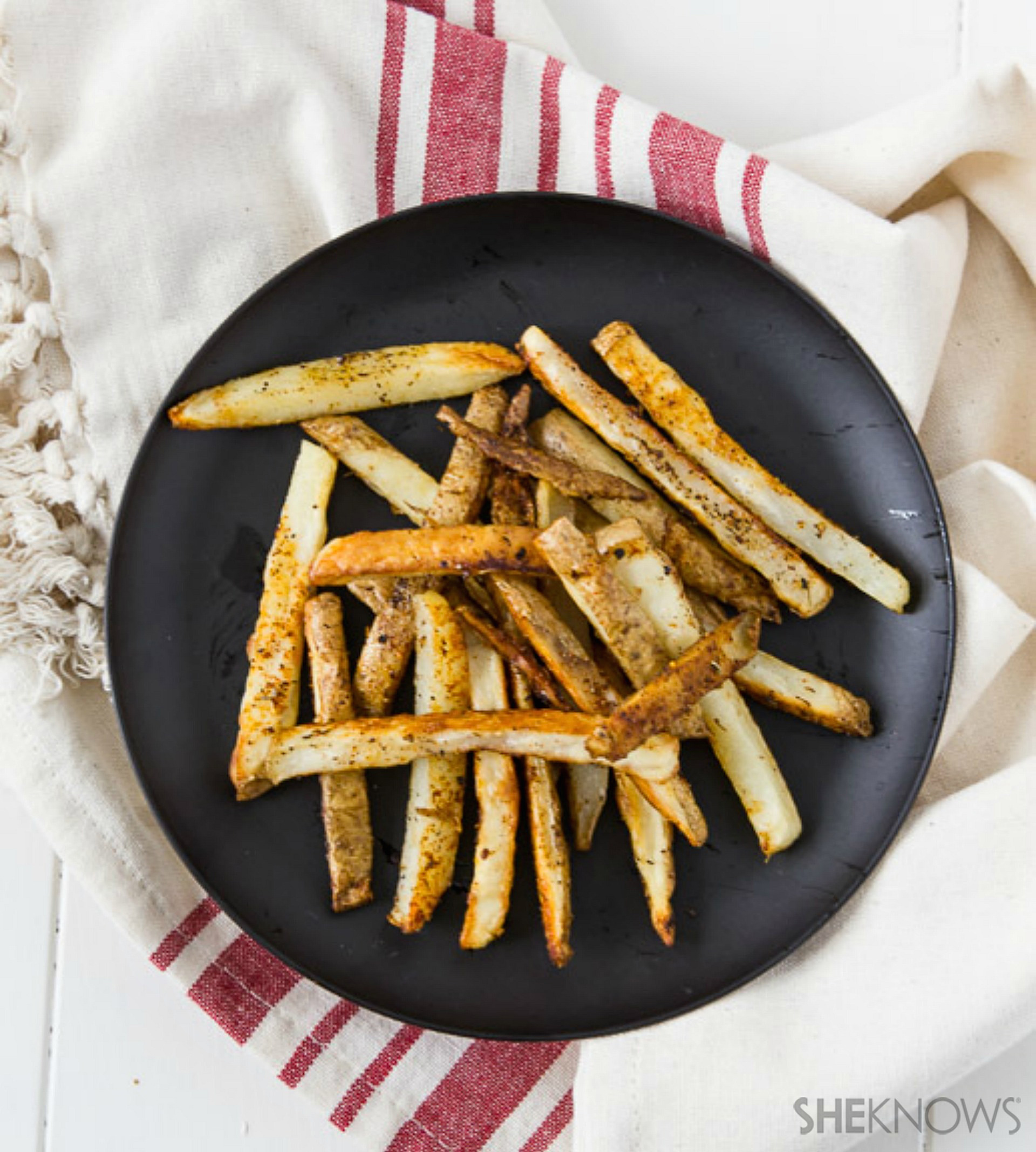 Mexican-spiced fries
