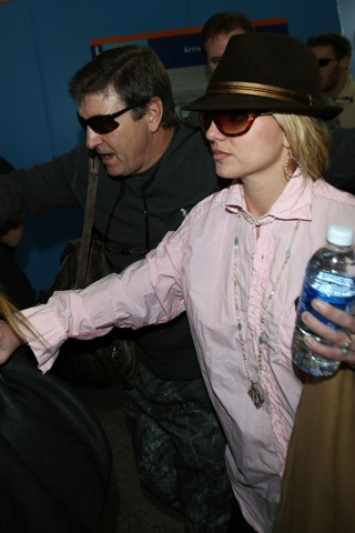 Britney and Dad together again