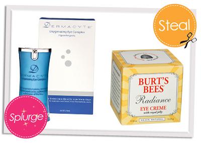 Save vs Splurge Eye cream