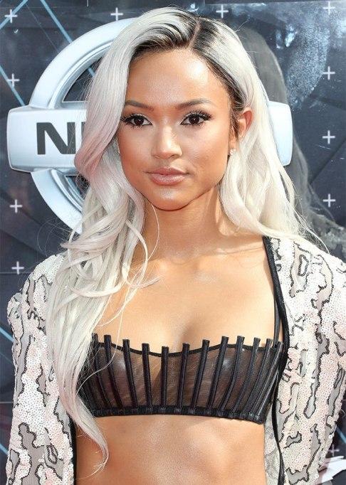 Celebrity Wig Looks: Karrueche Tran | Halloween 2017
