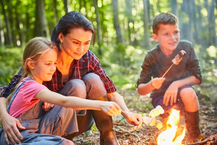 13 kid-friendly campfire stories with just